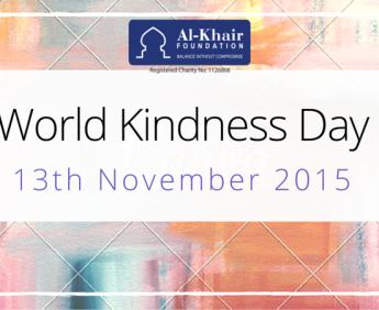 Al-Khair Foundation, kindness day, kindness, november
