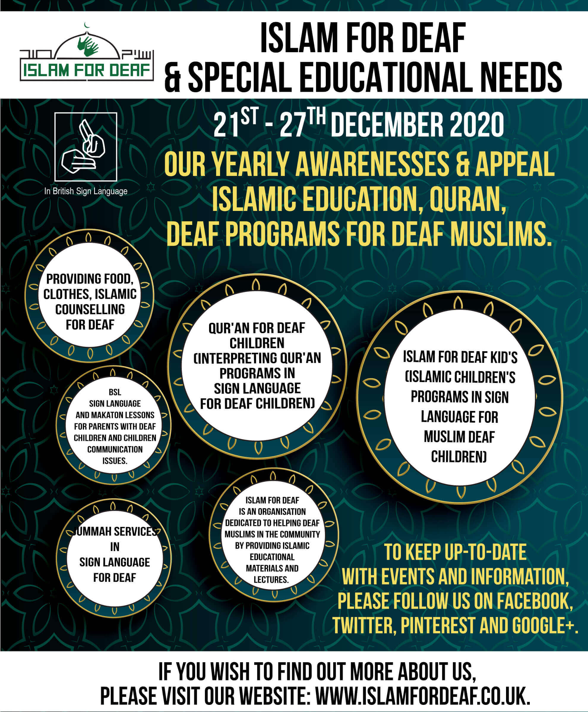 Islam for Deaf & Special Educational Needs