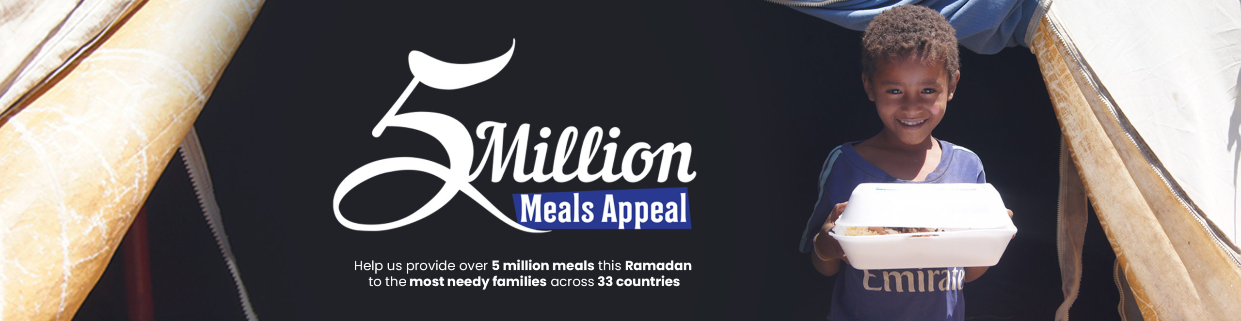 Ramadan Food – 5 million Meals